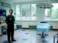 hospital room window